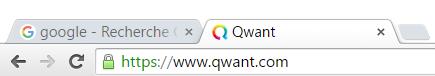 favicon qwant google