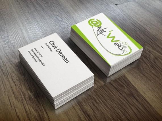 Cartes De Visite AndyWeb